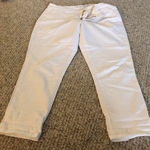 White khaki by gap size 8